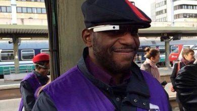 Photo de SNCF : des contrôleurs testent des Google Glass