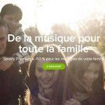 Spotify propose désormais une offre pour toute la famille
