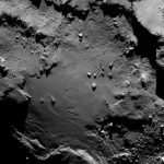 Vue d'ensemble de la région où est situé le rocher nommé Cheops