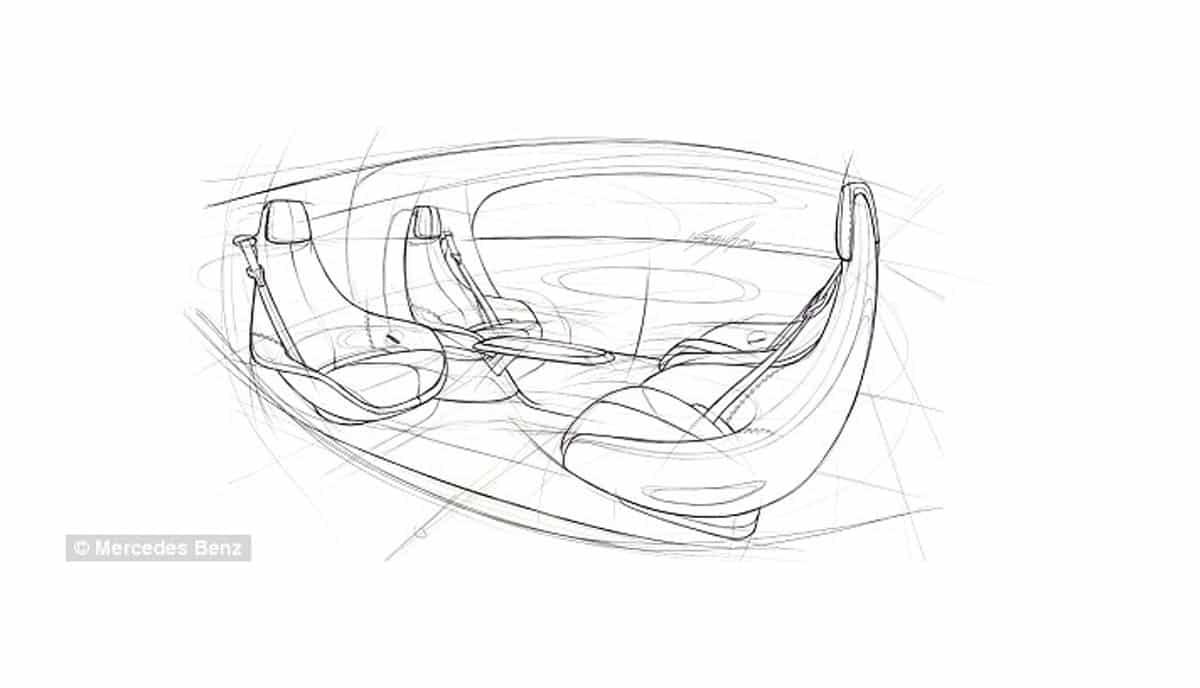 Mercedes dévoile la première machine sans conducteur, avec fauteuils pivotants, tables à café et haute technologie