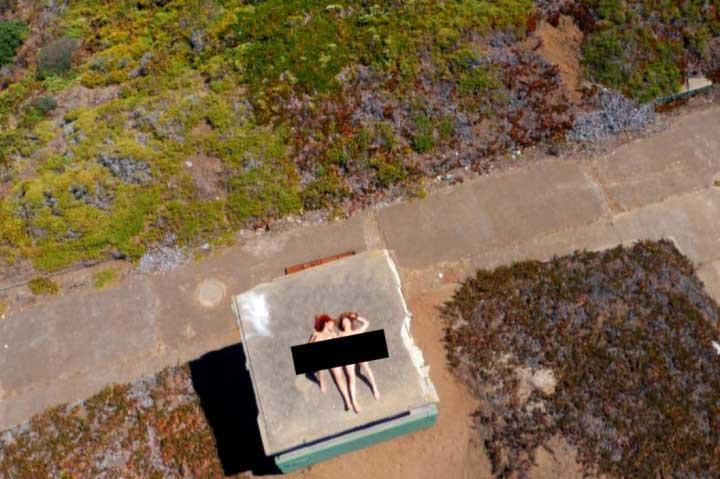 Drone Boning : le premier film érotique réalisé avec un drone