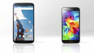 Photo de Nexus 6 vs Galaxy S5 : quel est le meilleur ?