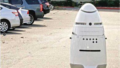 Photo de K5 : le cousin du robot R2D2 assure la sécurité de Microsoft