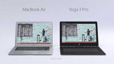 MacBook Air vs Yoga 3 Pro : Microsoft se moque d'Apple (vidéo)