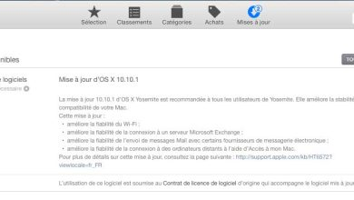 OS X Yosemite : une version 10.10.1 est disponible