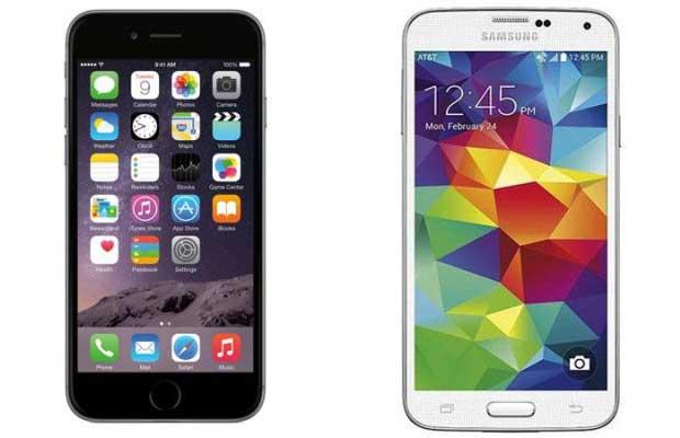 Vous préférez le Galaxy S5 ou l'iPhone 6 ? 1