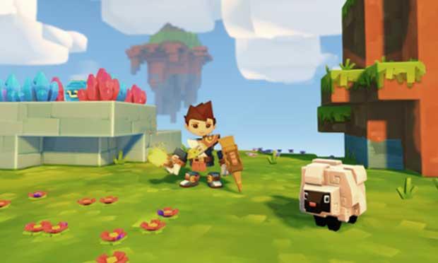 Skysaga : Infinite Isles : un nouveau jeu qui va mêler Minecraft avec Legend of Zelda 1