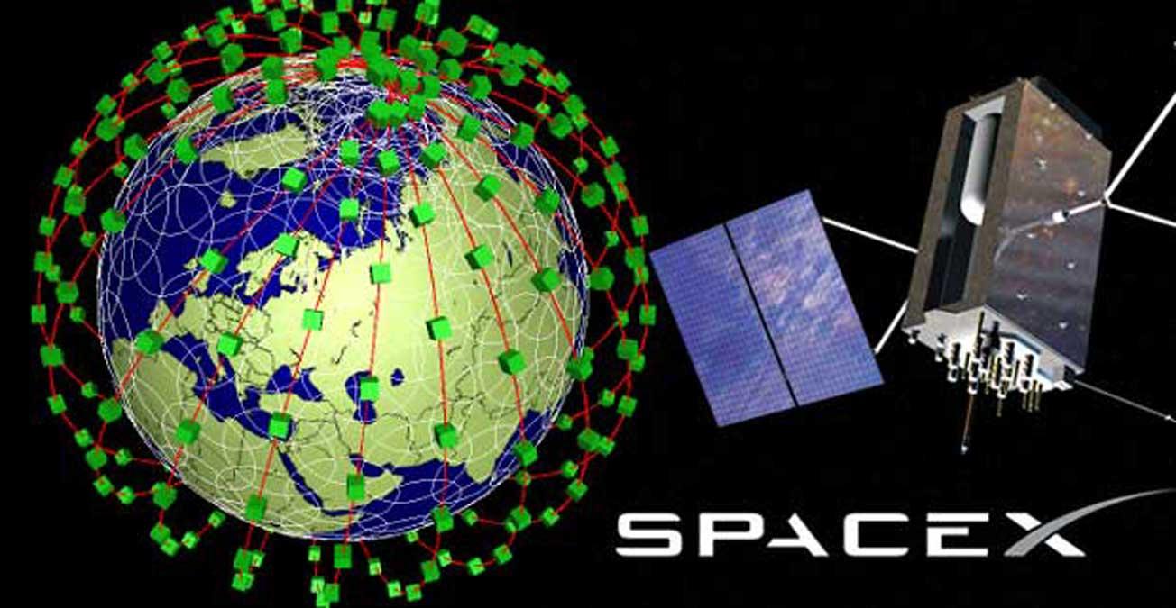 SpaceX : Elon Musk confirme le déploiement d'une constellation de satellites pour internet