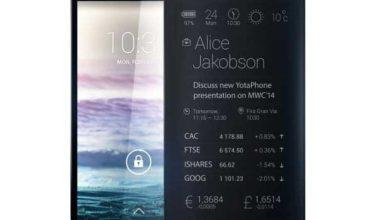Photo de Yotaphone 2 : le smartphone double écran sera lancé le 3 décembre