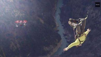 Photo de Bebop Drone : lorsqu'un drone s'invite dans le sport extrême