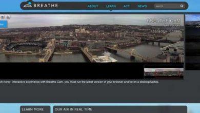Photo de Breathe Project : la ville de Pittsburgh se mobilise pour montrer l'air pollué