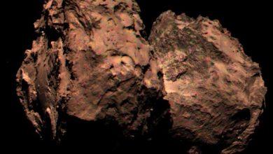 Photo of Est-ce que la comète de Rosetta serait rougeâtre ?
