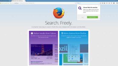 Photo of Firefox 34 : nouveau moteur de recherche par défaut et recherche en un seul clic