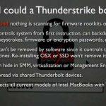 Thunderstrike : la faille de tous les dangers qui cible les Mac