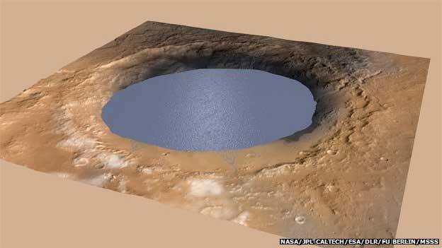 Les sédiments ont été drainés vers un lac d'eau calme pour construire les couches rocheuses du mont de Sharp.