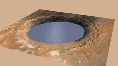 Photo de Mars : Curiosity démontre qu'il y a eu des rivières, mais aussi des lacs