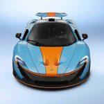 Une McLaren P1 se dote de la livrée Gulf