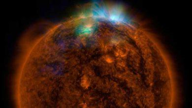 Photo of NASA : encore une spectaculaire éruption solaire