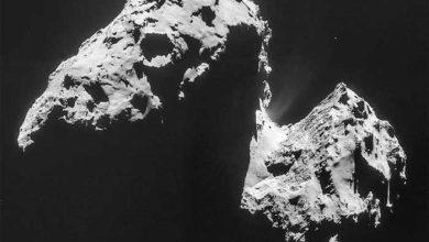Photo de Rosetta : l'eau terrestre proviendrait plutôt des astéroïdes