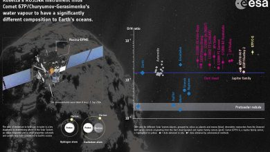 Photo de Rosetta : l'eau océanique de la Terre ne proviendrait pas de comète