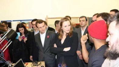 Photo de Axelle Lemaire évoque la France numérique