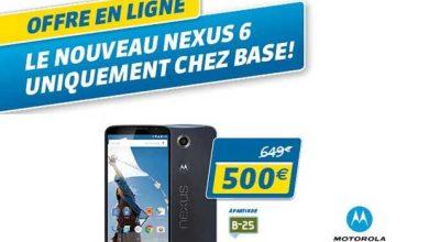 Photo de Belgique : le Nexus 6 à seulement 500 euros