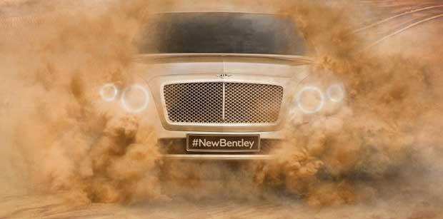 SUV : Bentley officialise le nom de Bentayga 1