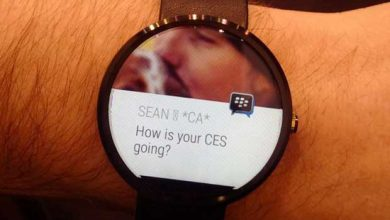Photo of BlackBerry : Messenger se prépare pour Android Wear