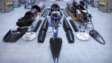 Bloodhound SSC : la voiture la plus rapide au monde sous forme de kit