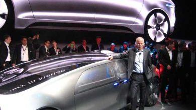 Photo de CES 2015 : Mercedes dévoile le concept-car d'une voiture pour la prochaine décennie