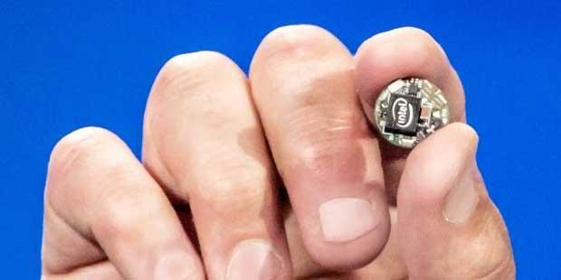Intel dévoile un SoC de la taille d'un bouton de manteau 1