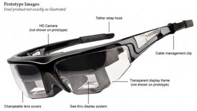 Photo de Intel investit 24,8 millions de dollars dans les lunettes connectées de Vuzix