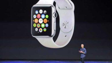 Photo de L'Apple Watch arrivera au mois d'avril