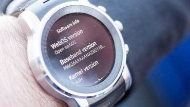 Photo de LG : la G Watch R s'essaie à WebOS