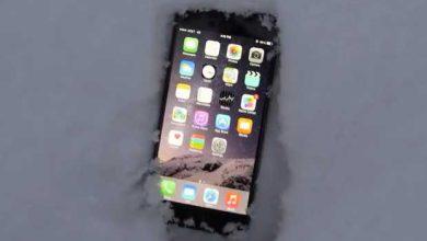 Photo of L'iPhone 6 Plus résiste à l'épreuve de la neige