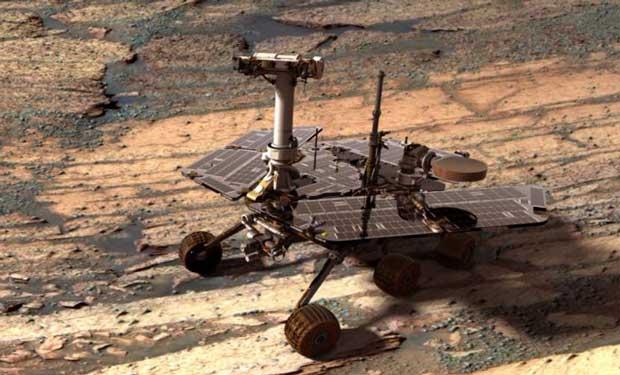Mars : le rover Opportunity a des trous de mémoire 1