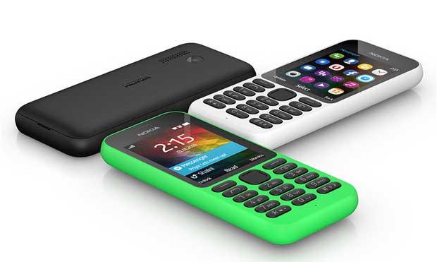 Microsoft annonce un Nokia 215 à seulement 29 dollars 1
