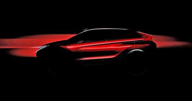 Mitsubishi : premières images d'un concept à technologie hybride électrique rechargeable 1