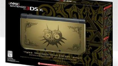 New 3DS XL Zelda Majora Mask : en rupture de stock avant sa sortie