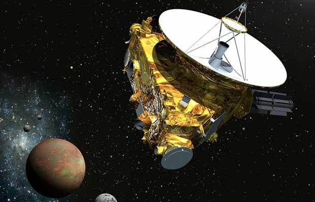 New Horizons : les premières images de Pluton 1