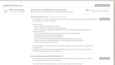 OS X Yosemite 10.10.2 corrige plusieurs problèmes