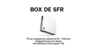SFR revoit ses offres ADSL et ajoute une option TV sur PC, tablette et smartphone