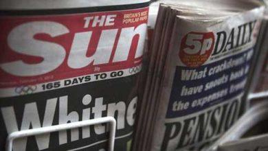 Photo de The Sun renonce aux seins nus de sa page 3