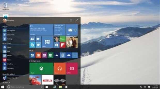 Windows 10 (Build 9926) disponible au téléchargement 1