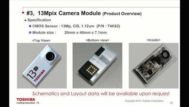 Photo de Projet Ara : Toshiba dévoile 3 appareils photo différents