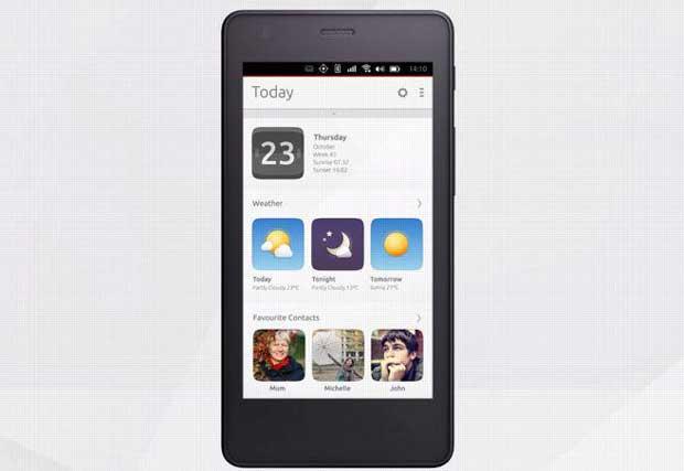 169,90€ pour un smartphone sous Ubuntu OS