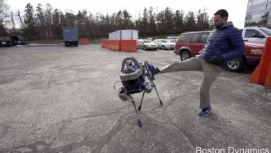 Photo de Google dévoile un robot quadrupède baptisé Spot