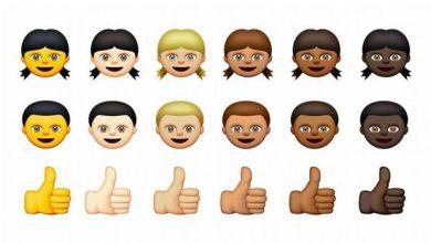 Photo de iOS 8.3 – OS X 10.10.3 : Apple ajoute toutes les couleurs de peau à ses emojis