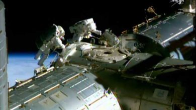 ISS : le problème d'eau dans le casque est de retour