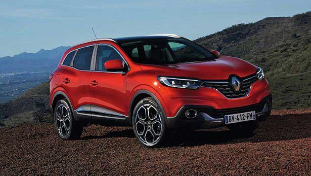 Renault révèle les premières photos de son nouveau crossover Kadjar 1